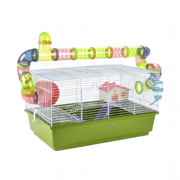 Pet Ting Green Lily Rodent Cage
